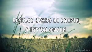 цитаты о счастье, цитаты о жизни и любви, страх