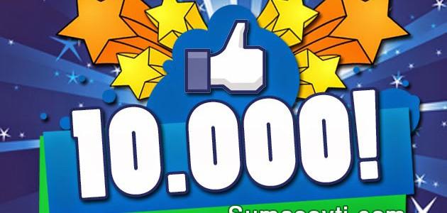 Нас 10000! Получите призы.:)