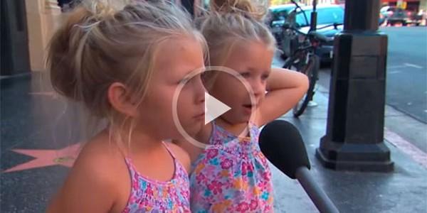 Детей спросили, как мама ругает ребенка?
