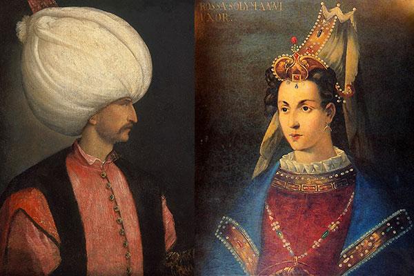 Роксолана Хюрем и султан Сулейман